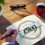 Businessman Brainstorming About Blogging