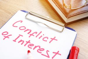Reality Blog: How to Avoid a Conflict of Interest