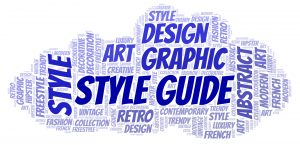 Create a Style Guide for your client - earn income
